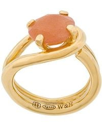 Wouters & Hendrix - Technofossils Sunstone Ring - Lyst