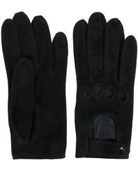 Manokhi Перчатки С Вырезными Деталями - Черный