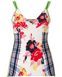 Marni - Textured Floral Camisole - Lyst