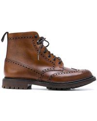 Church's - Brogue Detail Boots - Lyst