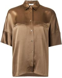 5ed6c569496 Vince - Concealed Pocket Shirt - Lyst. Vince. Concealed Pocket Shirt. £411.  Farfetch · James Perse - Black V-neck ...