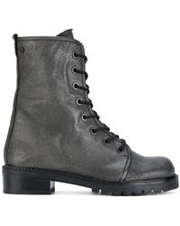 Stuart Weitzman - Metermaid Lace-up Boots - Lyst