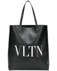 Valentino - Sac cabas Garavani VLTN - Lyst