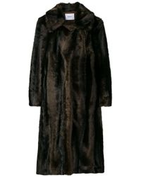 Dondup - Oversized Furry Coat - Lyst