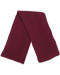 S.N.S Herning - Ribbed Knit Scarf - Lyst
