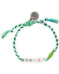 Venessa Arizaga - Sweet Pea Bracelet - Lyst