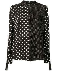 PS by Paul Smith - Polka Dot Print Shirt - Lyst