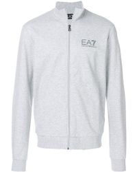 EA7 - Zipped Tracksuit - Lyst