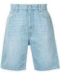 Cerruti 1881 - Denim Bermuda Shorts - Lyst