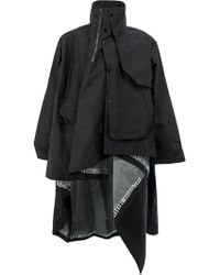 Facetasm | Deconstructed Raincoat | Lyst