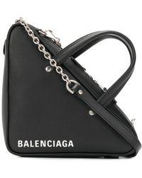 Balenciaga - Triangle Duffle Xs Chain Bag - Lyst
