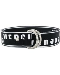 Versus - O Ring Logo Belt - Lyst