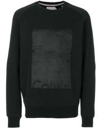Calvin Klein Jeans - Logo Sweatshirt - Lyst