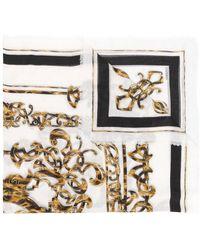 Versace - Fular con estampado barroco - Lyst