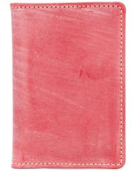Whitehouse Cox - Bleached Effect Wallet - Lyst
