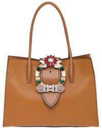 9a5a4894c0 Miu Miu Madras Bags - Women's Miu Miu Madras Bags - Lyst