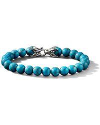 David Yurman - Spiritual Bead Turquoise Bracelet - Lyst