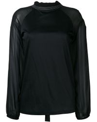 Dorothee Schumacher - Long-sleeve Fitted Blouse - Lyst