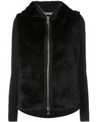 Transit - Zipped Hooded Sweatshirt - Lyst