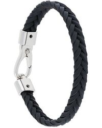 Tod's - Classic Woven Bracelet - Lyst