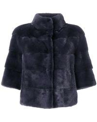 Cara Mila - Panelled Coat - Lyst
