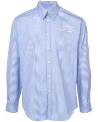Martine Rose - Pinstripe Classic Shirt - Lyst