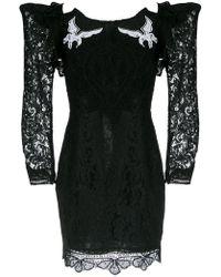 Martha Medeiros - Short Lace Dress - Lyst