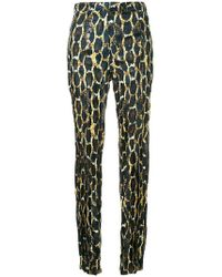 Sharon Wauchob - Fitted Mid Rise Trousers - Lyst