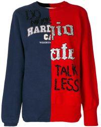 Night Market - Contrast Knitwear - Lyst