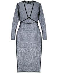 Maison Close - Harness Sheer Dress - Lyst