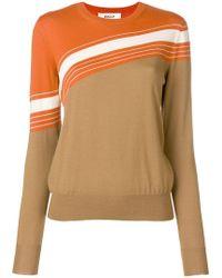 Bally - Intarsia Knit Sweater - Lyst
