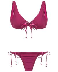Amir Slama - Lace Up Bikini - Lyst