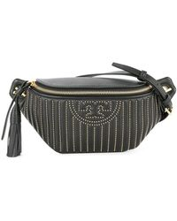 Tory Burch - Fleming Studded Belt Bag - Lyst