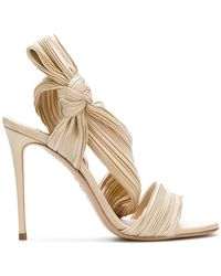Casadei - Pleated Strap Sandals - Lyst