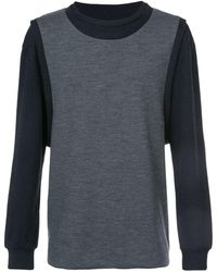 Private Stock - Double Layer Sweatshirt - Lyst