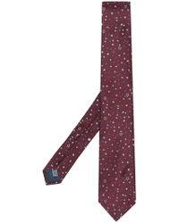 Lanvin - Corbata clásica con estampado de estrellas - Lyst