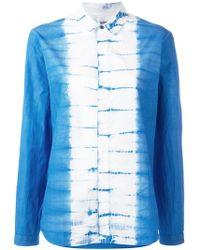Suzusan - Contrast Shirt - Lyst