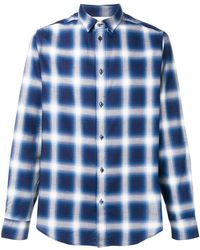 Natural Selection - Slate Checked Shirt - Lyst