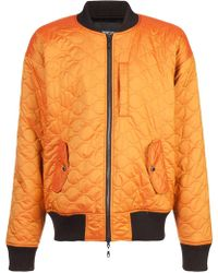 Mostly Heard Rarely Seen | Quilted Bomber Jacket | Lyst