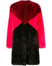 P.A.R.O.S.H. - Mid-length Fur Coat - Lyst