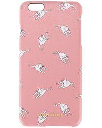 Miu Miu - - Cat Print Iphone 6 Case - Women - Leather - One Size - Lyst