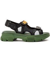 Gucci - Sega Logo Sandals - Lyst