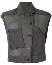 Lost and Found Rooms - Sleeveless Jacket - Lyst