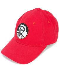 Haculla - Dad Skull Patch Baseball Cap - Lyst