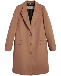 Burberry - Tailored Single-breasted Coat - Lyst