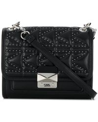 Karl Lagerfeld - K/kuilted Studs Small Shoulder Bag - Lyst