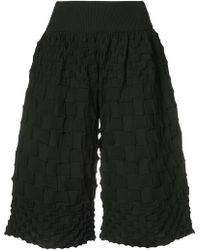 Pleats Please Issey Miyake | Pierrot Knit Shorts | Lyst