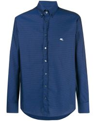 Etro - Classic Collared Shirt - Lyst