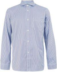 Junya Watanabe - Check Panelled Shirt - Lyst