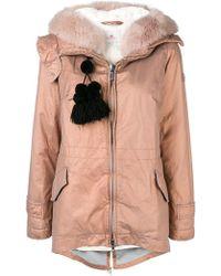 Peuterey - Tassel Detail Puffer Jacket - Lyst